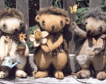 Prim Hedgehogs Ike, Mike & Spike
