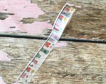 Laundry Day Washi Tape 15mm