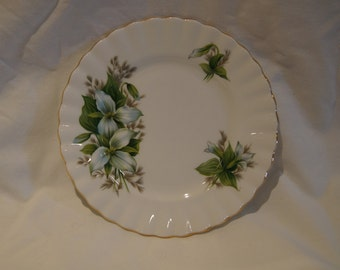 "Royal Albert Trillium 6 1/4"" Bread and Butter Plate"