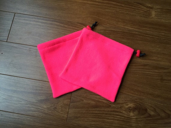 Neon Pink Stirrup Covers - Ready To Ship