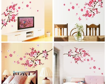 Branch and Blossoms Vinyl Wall Art / Mural