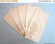 SALE - FLAT 20% OFF Envelopes Handmade Indian Handicraft Stationery of handmade papers from India - Set of 5 paper and party supplies