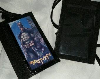 Batman ID badge lanyard
