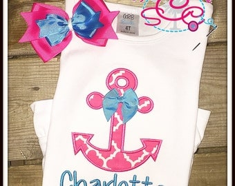Personalized Anchor Shirt/Bodysuit