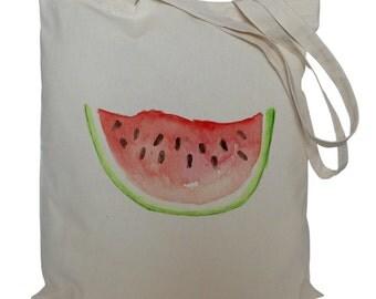 Tote bag/ drawstring bag/ watermelon/ cotton bag/ material shopping bag/ shoe bag/ market bag
