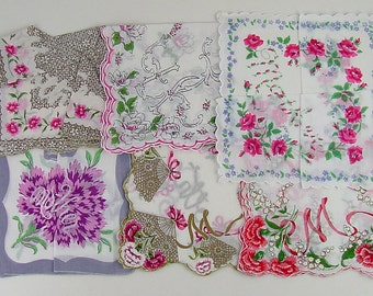 Your Choice of Vintage Handkerchief (s) for Mother  (Inventory Lot #J13)