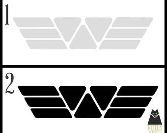 Alien | Movie Series | Prometheus | Weyland Corp Logo | Vinyl Decal