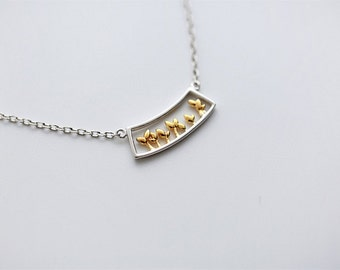 FREE SHIPPING* 925 Sterling Silver Elegant Tree Necklace