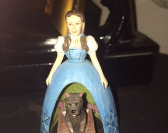 Wizard Of OZ, Judy Garland, Dorothy and Toto Figurines, Set