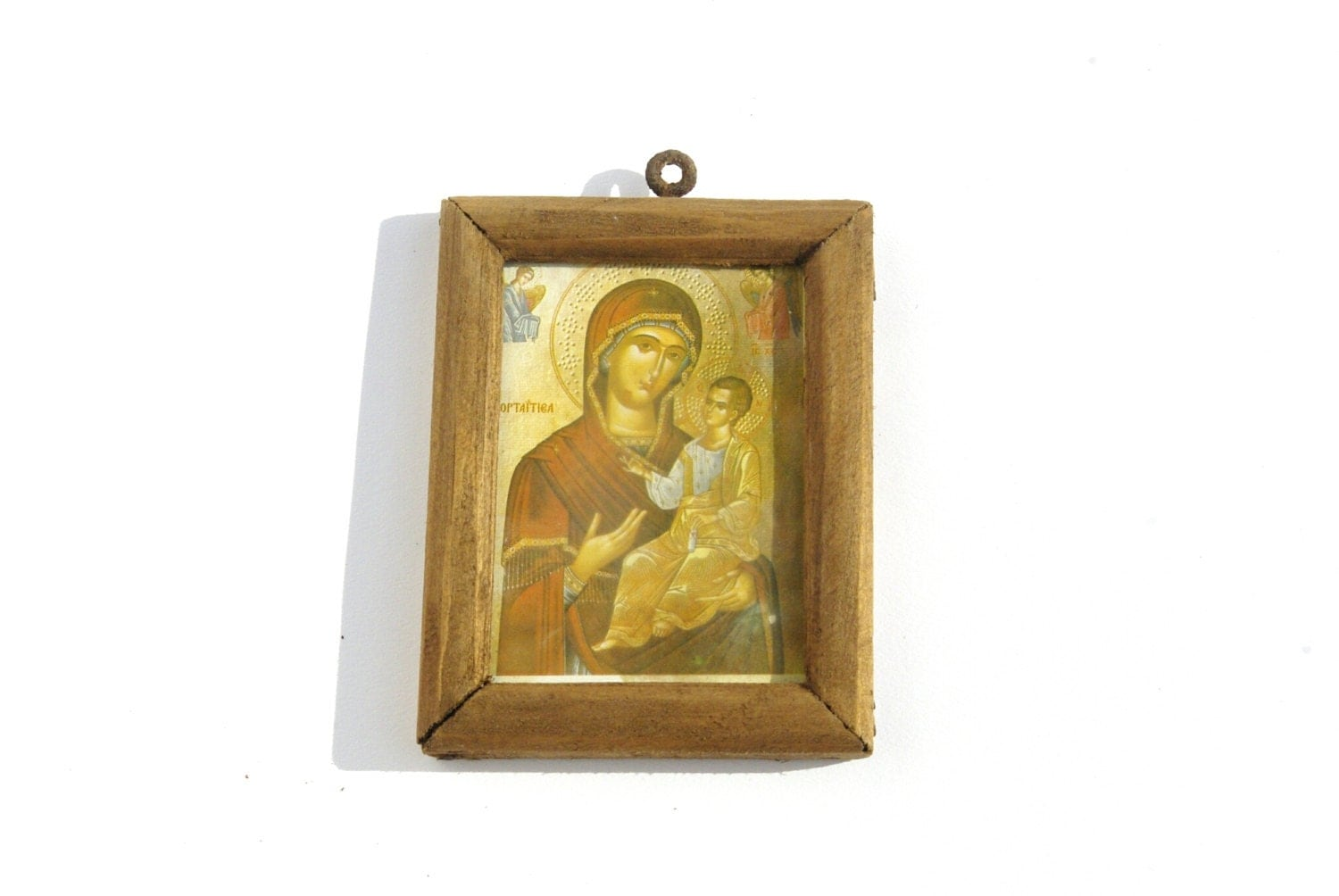 Wall Decor Jesus : Virgin mary religious icon print catholiv wall decor