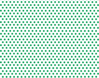 White with green mini polka dots craft  vinyl sheet - HTV or Adhesive Vinyl -  polka dot pattern HTV2330