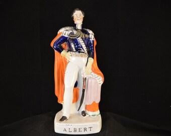STAFFORDSHIRE PRINCE ALBERT figure - circa 1840