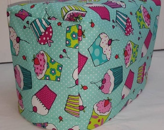 Teal Cupcake Toaster Cover
