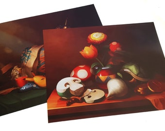 "20""x16"" Mario and Zelda Still Life Pack"