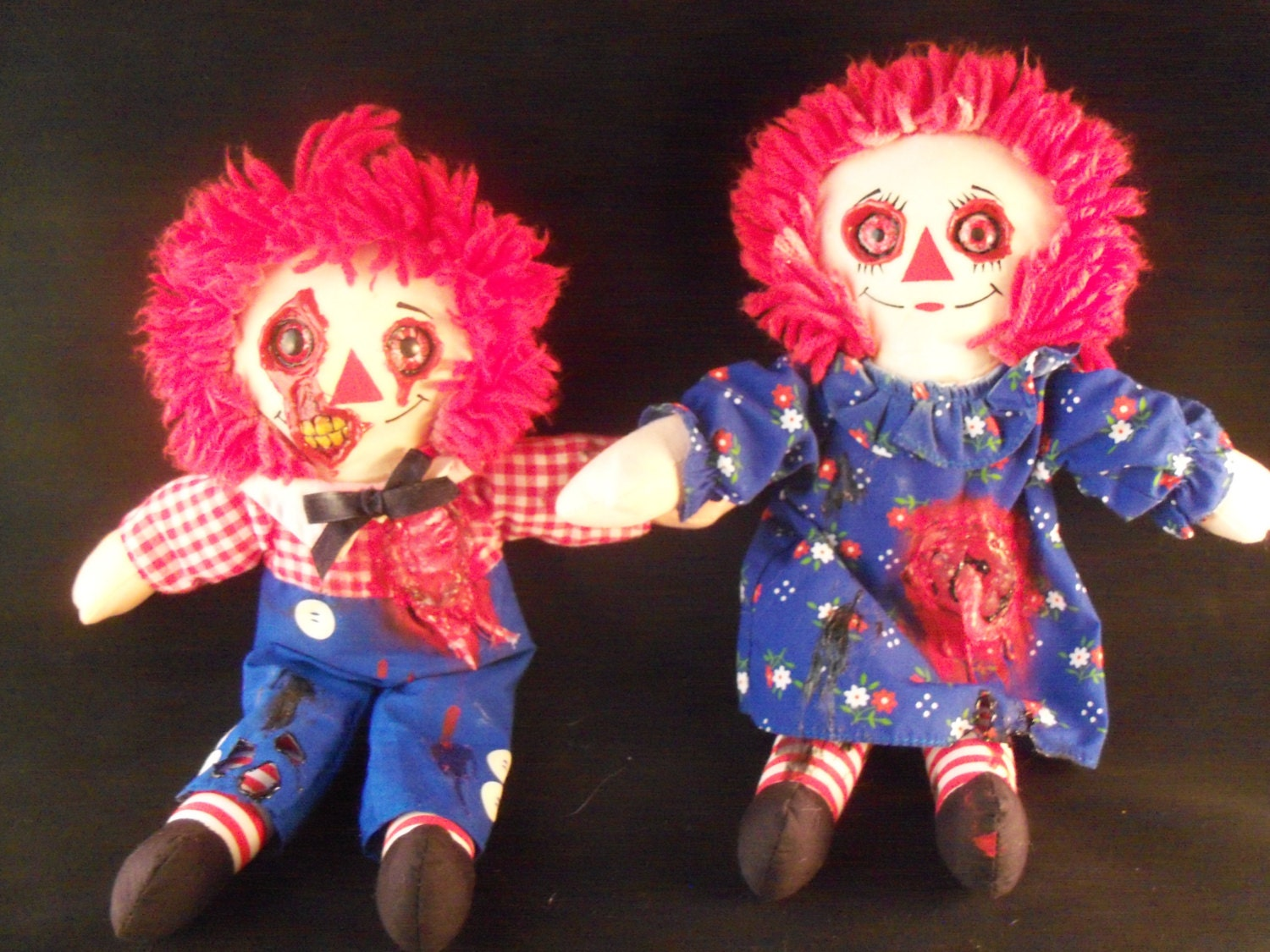 zombie raggedy ann and andy dolls