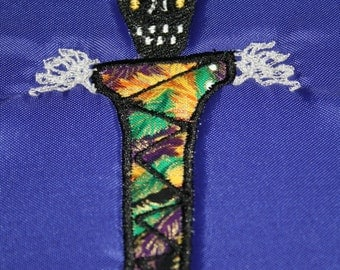 Voodoo Doll machine embroidery design
