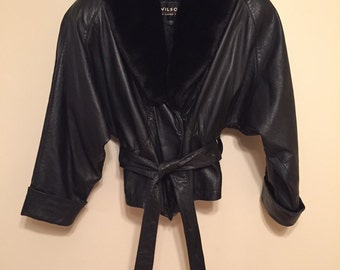 WILSONS 100% leather womens jacket!!