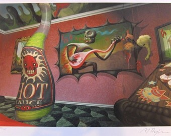 Mark Ryden Art Print - 9: The Last Resort PC Game, limited edition 85/125