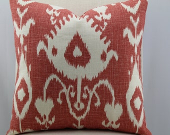 Bristow cranberry by Kravet,decorative pillow,accent pillow,throw pillow,same fabric front and back.