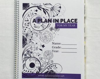 High School Edition homeschool planner - Swirls cover
