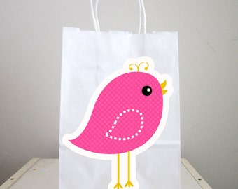 Bird Goody Bags, Bird Favor Bags, Bird Party Favors