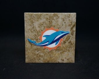 Miami Dolphins - Tile Magnets 1-3/4 x 1-3/4