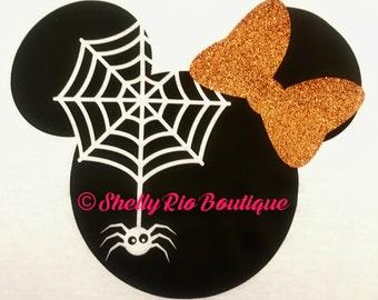 Halloween Minnie Mouse Iron On