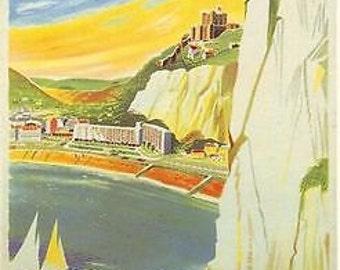 1960's Dover British Railway A3 / A2 Print