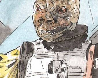 Star Wars:The Empire Strikes Back-Bossk