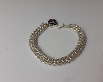 Full Persian Chain Maille Bracelet