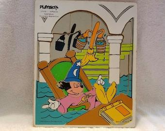 Vintage Playskool Fantasia Puzzle
