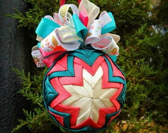 Quilted Ornament- Free Shipping