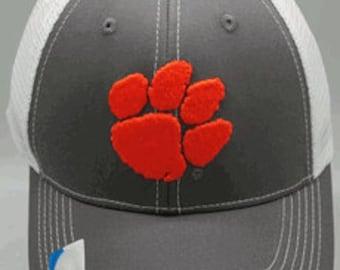 """Clemson """"Grey Ghost"""" Cap C@@L NEW L@@K Baseball Cap Hat Adjustable Tigers"""