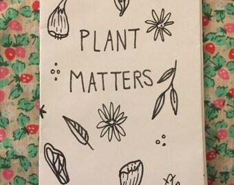 Plant Matters Zine