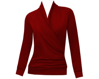 Stuffed shirt Yara in winter-Red