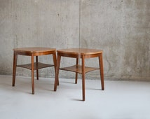 1960's mid century beech / formica bar tables by Benchairs of Somerset (6 available)