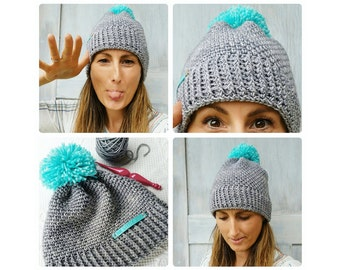 Crochet Pattern ~ Easy Peasy Hat ~ Instant Download