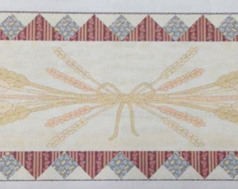 """Wheat and Honey Runner Quilt Kit 24"""" x 72"""""""