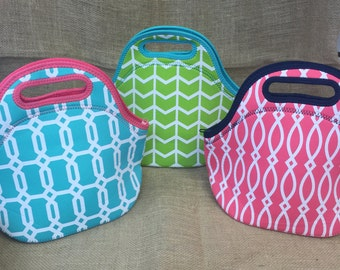 Monogrammble Insulated Lunch Bag Tote