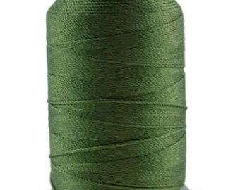Silk Thread 1/2oz Spool Green Size FF (CD7039)