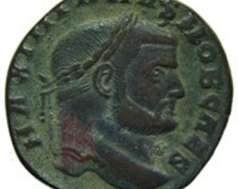 Galerius 293-305 AD Roman coin