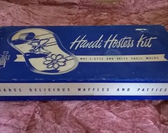 Vintage Cookware, Handi Hostess Kit Complete, Kitchenalia, Pastry
