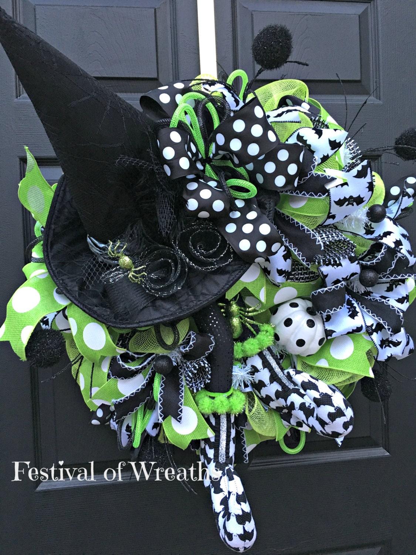 Sale Halloween Wreath Halloween Door Wreath Halloween
