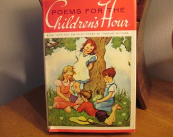 Childrens' Hour Poem Book  1962
