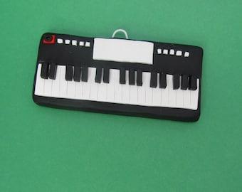 Keyboard Christmas Ornament, Personalized keyboard ornament, 2016 Christmas Ornament