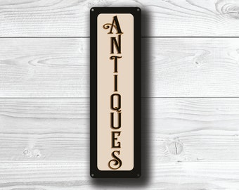 ANTIQUES SIGN, Antiques Signs, Antiques , Vintage Style Antiques  Sign, Antiques Wall Sign, Sign Antiques and Collectables, Antiques shop