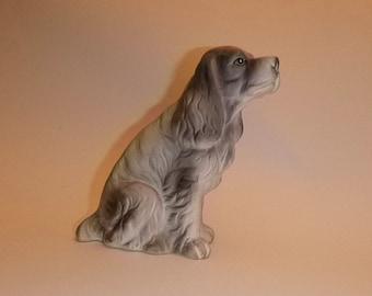 Adorable Spaniel figurine  1960s