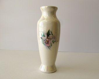 Hawaiian Lusterware Orchard Vase / Ceramics Delight / Vintage Lusterware