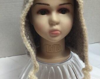 Crocheted Pixie Elf Hat for Toddler/Preschooler