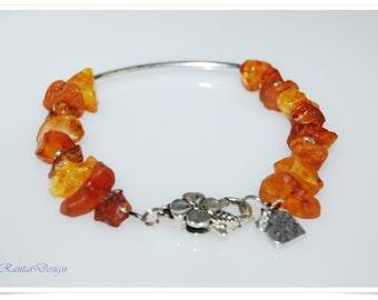 Amber Nuggets Bracelet nature amber stone bracelet amber nature nature jewelry